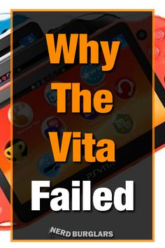 The was a fantistic platform but it ended up being failure. Heres why the vita failed. Playstation, Xbox, All Goes Wrong, Mobile Game, News Games, Going To Work, Fails, All About Time