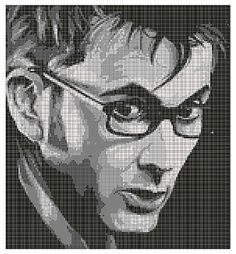 Ravelry: Doctor Who-10th Doctor Blanket pattern by Tiffany Estela