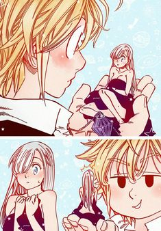 fanart , meliodas y elisabeth Seven Deadly Sins Anime, 7 Deadly Sins, Anime Guys, Manga Anime, Anime Art, Kawaii, Chibi, Meliodas And Elizabeth, Netflix Anime