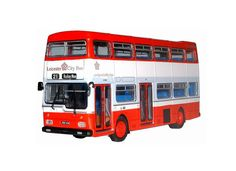 BritBus 1:76 Scania Metropolitan Diecast Model Bus N6201 This Scania Metropolitan Diecast Model Bus is Red and White and features working wheels. It is made by BritBus and is 1:76 scale (approx. 12cm / 4.7in long). #BritBus #ModelBus #Scania #MiniModelBuses