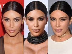 Kim Kardashian West's Sleek Bun