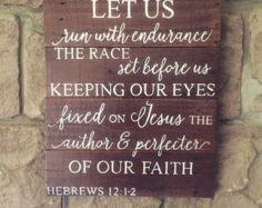 hebrews 12 1 – Etsy