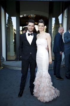 Morten Resen med sin kone.