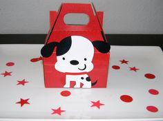 Puppy Birthday Party Favor Bags - Boys. $17.00, via Etsy.