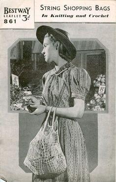 Bestway, Leaflet 861 - String Shopping Bags, Knit & Crochet