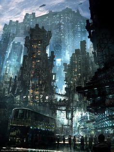 Cyberpunk! Feng Zhu Design