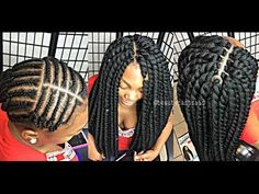 getlinkyoutube.com-#129. MOST NATURAL LOOKING CROCHET TWIST ; JBSHAIR.COM