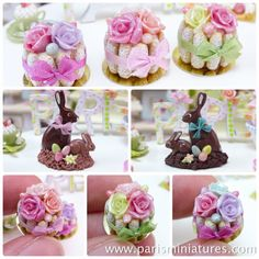 Paris Miniatures: Etsy update - Easter Bunnies and Pretty Charlottes