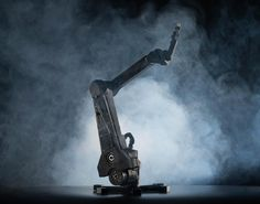 "Haddington Dynamics Robot Arm ""Dexter"" could have a gripper, a pick-and-place nozzle, a 3D print extruder, or a spindle to make it into a 3D CNC machine."
