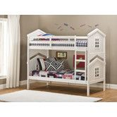 Found it at Wayfair - House Twin Over Twin Standard Bunk Bed