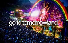 Amazing electric dance festival in Belgium. I attended Tomorrowworld 2013, in Atlanta GA