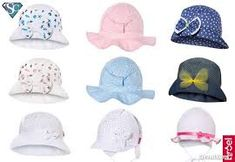 Картинки по запросу czapki dziecięce na lato
