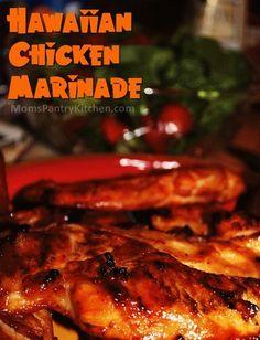 Hawaiian Chicken Marinade