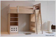 子供部屋の実例ロフトベッド画像3