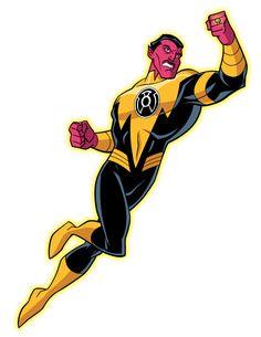 Sinestro by Tim Levins
