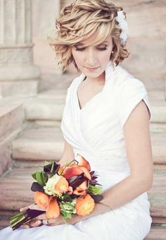 Perfect Short Haircut for Wedding Hairstyles 2014