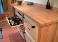 столешница из дерева для кухни 1