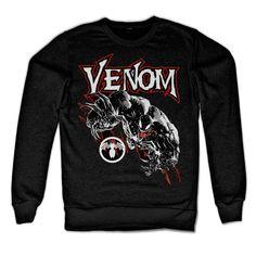 Spiderman - Venom heren unisex sweatshirt trui zwart - Superhelden comics…