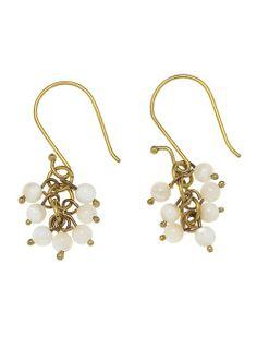 Mini Bead Drop Earrings