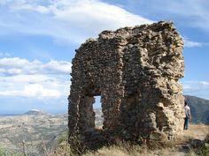 Rovine del castello, Colobraro Matera, Italien