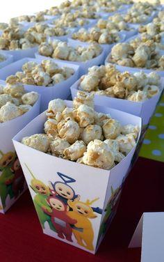 Teletubbies Popcorn Boxes