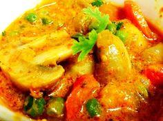 Kadhai Mushroom Masala