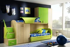 Green Blue Teenage Boys Rooms, Photo  Green Blue Teenage Boys Rooms Close up View.