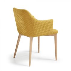 Silla con brazos Croft, mostaza Bar, Wicker, Dining Chairs, Home Decor, Croft, Furnitures, Design, Products, Folding Chairs