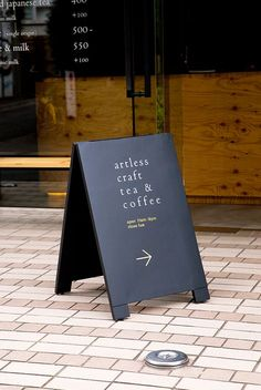 A Board, Sandwich Board, A Frame by artless. Store Signage, Wayfinding Signage, Signage Design, Cafe Signage, Menu Design, Sandwich Board Signs, Sidewalk Signs, Sign Board Design, Outdoor Signage