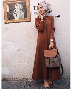 Discover thousands of images about Hijab look, formal, hari raya Modern Hijab Fashion, Street Hijab Fashion, Islamic Fashion, Abaya Fashion, Muslim Fashion, Modest Fashion, Fashion Outfits, Hijab Dress, Hijab Outfit