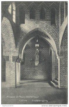 PAYS BAS - BRABANT SEPTENTRIONAL - NOORD BRABANT - OOSTERHOUT - Abbaye Saint Paul - Cloître