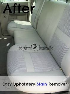 how to clean upholstery in a car with home remedies car upholstery upholstery and natural. Black Bedroom Furniture Sets. Home Design Ideas