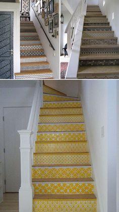 世界中のおしゃれな階段♪と階段周りのインテリア Laundry Room Storage, Kitchen Decor, Diy And Crafts, Stairs, Wallpaper, Interior, House, Design, Home Decor