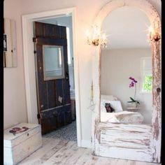 LOVE the mirror door!!
