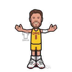 "Matthew Dellavedova ""Delly Time"" Tyke. During a series that has squashed conventional wisdom in every conceivable way, it's only right that Cleveland Cavaliers point guard and backcourt safety valve Matthew Dellavedova has played his way into the national spotlight alongside LeBron James. #MatthewDellavedova #Cavs #basketball #NBA #NBAFinals #tyke #tykes #MyTyke www.tykes.co"