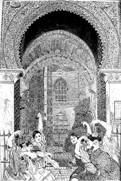 Sevilla, puerta del perdón.