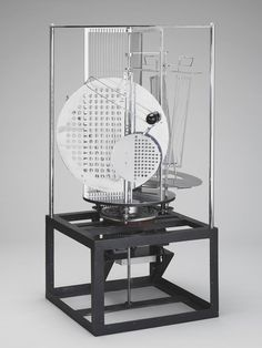 László Moholy-Nagy . Light prop for an electric stage), 1930
