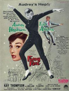 Funny Face (Audrey Hepburn and Fred Astaire) Art Print Vintage Magazine Company http://www.amazon.com/dp/B0045IXKN2/ref=cm_sw_r_pi_dp_uiXPvb0CBVHB7