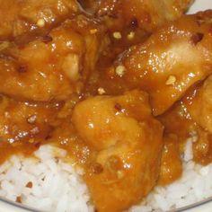 Crock Pot Orange Chicken Recipe