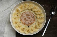 Porridge con crema di riso e banana