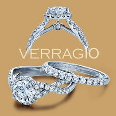 Beautiful! Verragio Couture Engagement Ring, Couture-0384 starting at ~$3,285