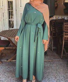 Modest Fashion Hijab, Modern Hijab Fashion, Muslim Women Fashion, Modesty Fashion, Islamic Fashion, Abaya Fashion, Hijab Chic, Fashion Outfits, Casual Hijab Outfit