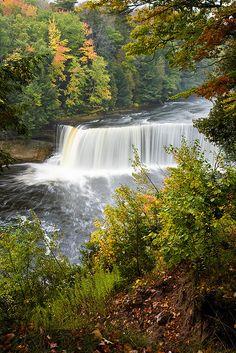 Upper Tahquamenon Falls State Park Paradise, Michigan