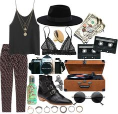 """""""Out & About."""" by hippierose on Polyvore"""
