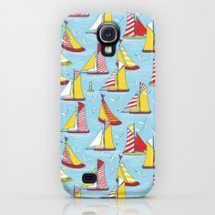 seagulls and sails iPhone & iPod Case & Samsung Galaxy 4 & iPad etc