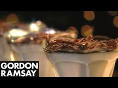"""Gordon Ramsay cooks up his panacotta with a pomegranate glaze. The most delicious Christmas recipes, cooked up by the world's greatest chef at home, """"Gordon ..."""