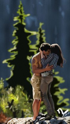 A Speed Painting of Bella and Jacob in Eclipse! Jacob and Bella Speed Painting Jacob Black Twilight, Twilight Wolf, Twilight Movie, Robert Pattinson, New Moon Movie, Jacob And Bella, Twilight Saga Series, Twilight Breaking Dawn, Twilight Pictures