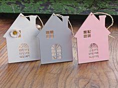 Komplet+3+drewnianych+domków+w+SongBird+na+DaWanda.com