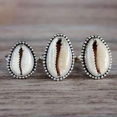 Cowrie Shell Ring | Bohemian Jewelry | Indie and Harper