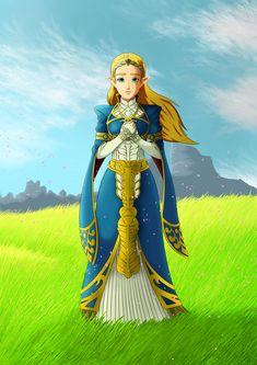 Princess Zelda - Breath of the Wild by ChaosVengeance
